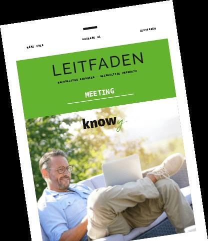 KNOWY Meeting-Leitfaden Anschnitt