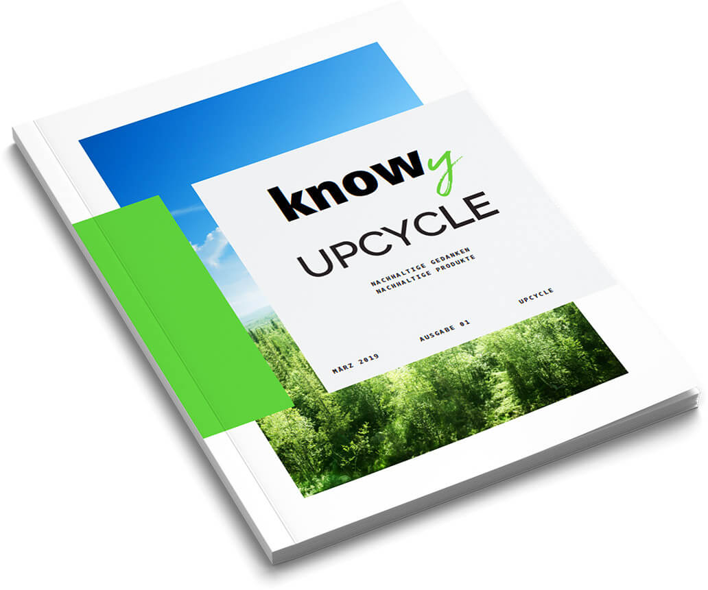 KNOWY Upcycle Magazin Ausgabe 1