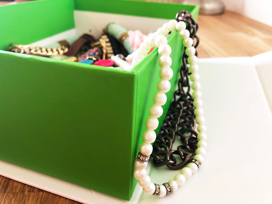 KNOWY Upcycle Schmuckbox