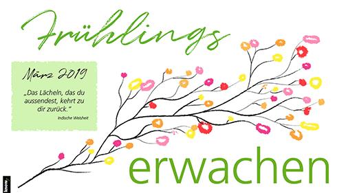 KNOWY Wallpaper Vorschaubild Frühling März